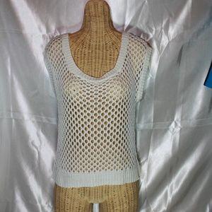 Arizona Jean Company Loose Crochet Top